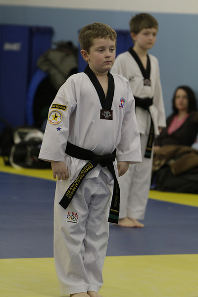 Belt testing Taekwondo