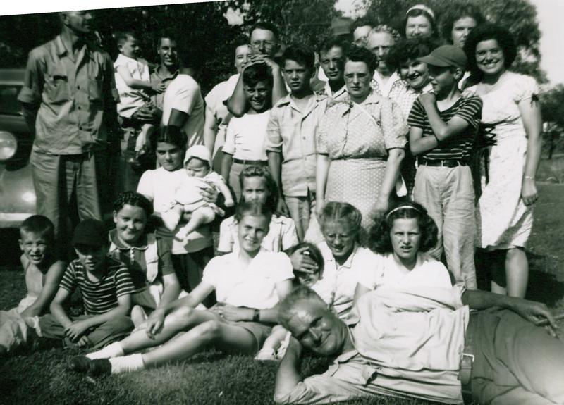 1930 Tony Konyha in front Wilma Konyha on left.jpeg