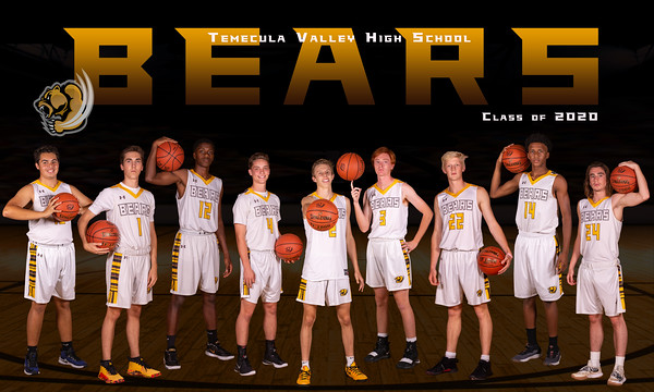 TVHS Boys Basketball 2019-20