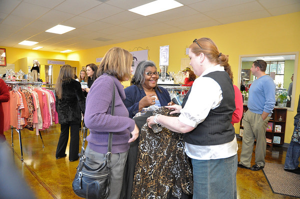 Second Chance Boutique by Turning Point of Waxhaw Ribbon Cutting UC Chamber