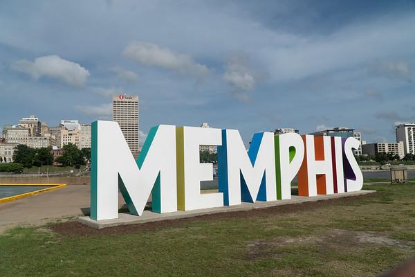 Downtown Memphis Sign