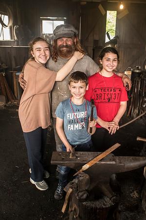 Childrens Blacksmithing Class 2019