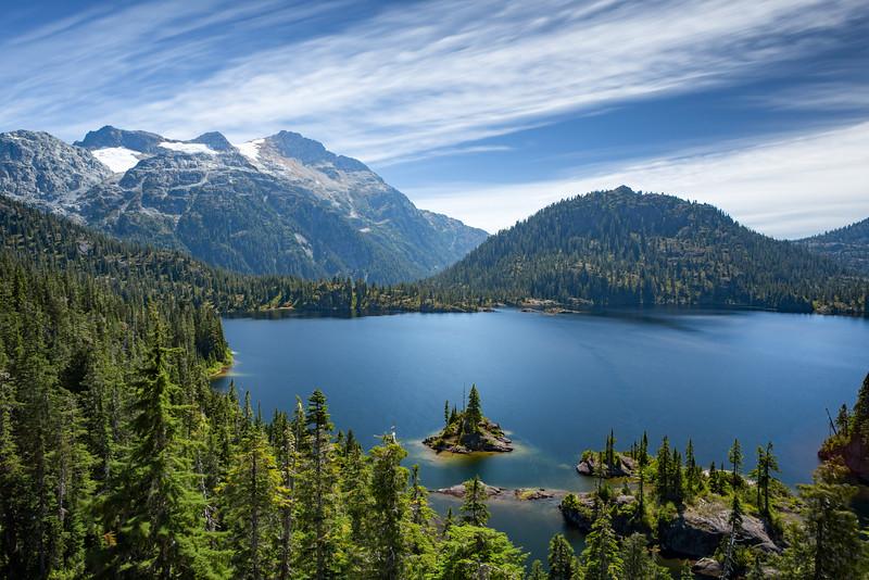 Lake Bedwell, Strathcona Park, BC
