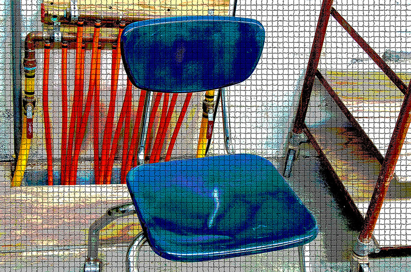 Blue Chair Mosaic