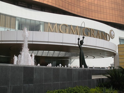 Inside the MGM Grand Macau