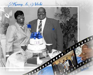 Kenny & Vicki 25 Years