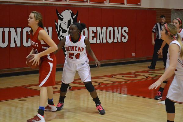 Duncan-Durant girls hoops