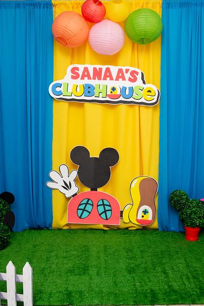Sanaa's 1st Birthday