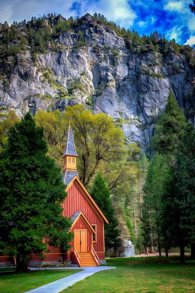 Yosemite Chapel Spring