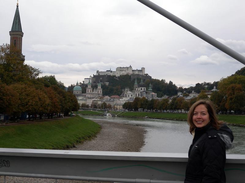 Salzburg - view of Honhensalzburg fortress