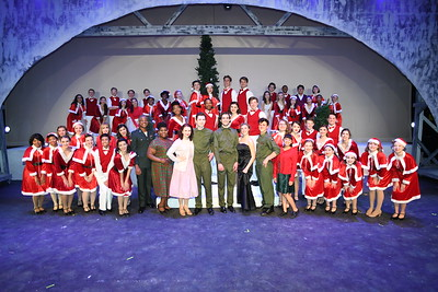 11-5-2019 S&J Cast White Christmas Act 2 @ GP Fine Arts Academy