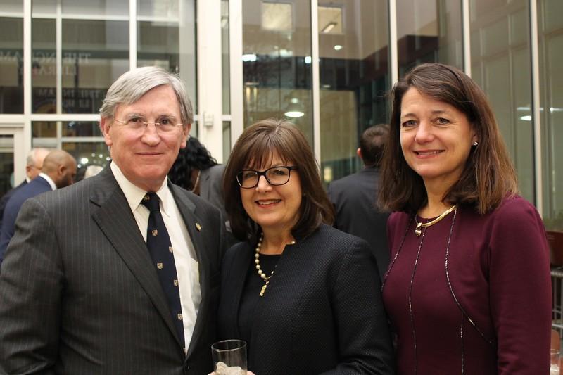 Dean Bill Koch, Jackie Dixon & Lela Hollabaugh
