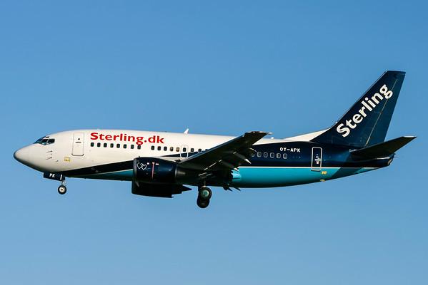 OY-APK - Boeing 737-5L9