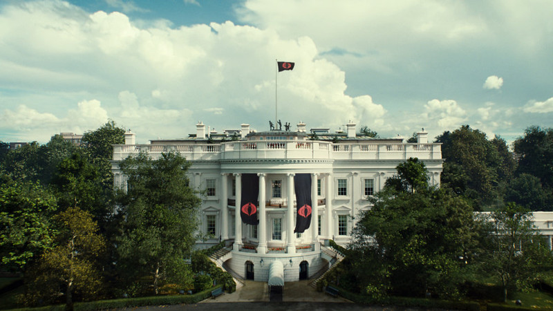 . Cobra takes over the White House in G.I. JOE: RETALIATION, from Paramount Pictures, MGM, and Skydance Productions. (Jaimie Trueblood/Paramount Pictures)