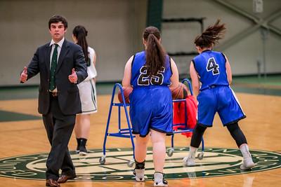 2018-01-10 Hebron Academy Girls' Basketball