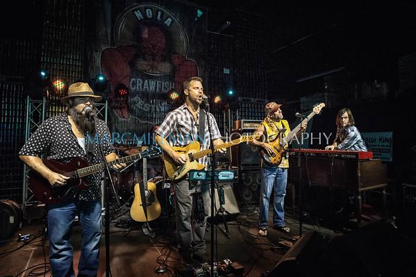 Honey Island Swamp Band @ NOLA Crawfish Fest (Mon 4/25/16)