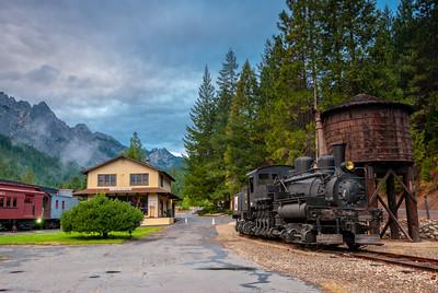 Dunsmuir, California - Railroad Park Resort