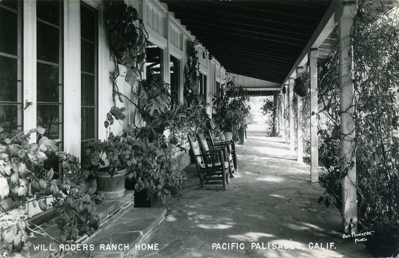 Will Rogers Home Patio