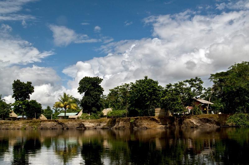 siona secoya village