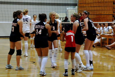 2010 08 31:  Duluth East volleyball (home) v Cloquet