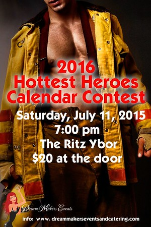 2016 Hottest Heroes Calendar Contest