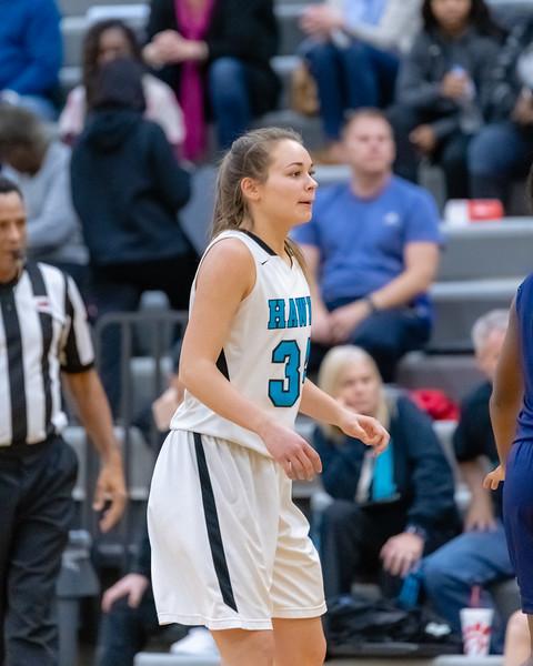 2018-11-30 Lakeland vs Hickory Girls Basketball