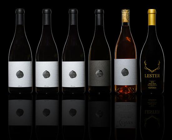 Lester Family Vineyards - Wine Bottles