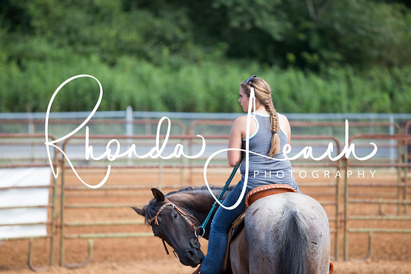 Clinton Fair 7-22-17 Pee-Wee Barrel Race