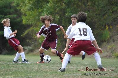 PFMS Soccer at Altoona 20090924