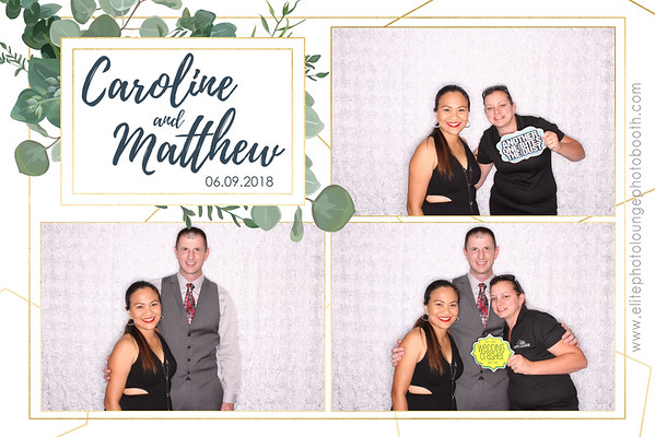2018.06.09 Caroline & Matthew's Wedding