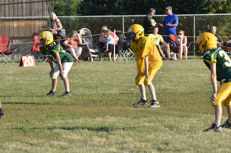 Wildcats vs Raiders Scrimmage 015.JPG