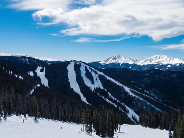 Skiing at Keystone 3-10-16