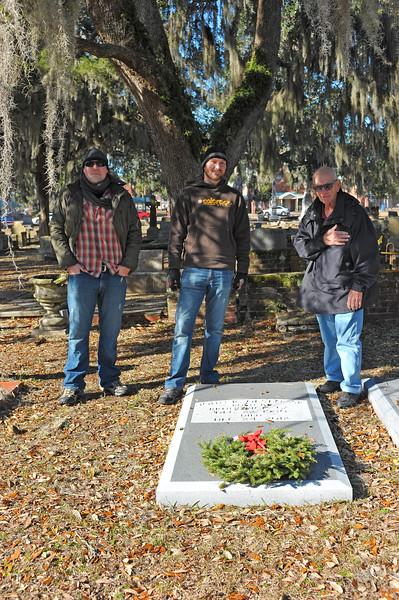 Oak Grove Cemetery Society Cleanup 01-13-18