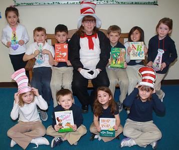 Dr. Seuss, PTO, Rush Elementary School, Hometown (3-2-2012)