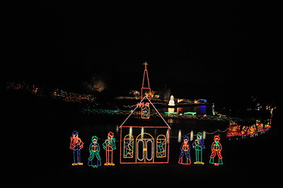 Magic Christmas in Lights at Bellingrath Garden and Home