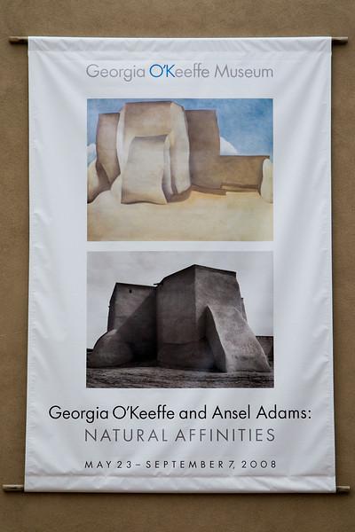 Georgia O'Keeffe & Ansel Adams
