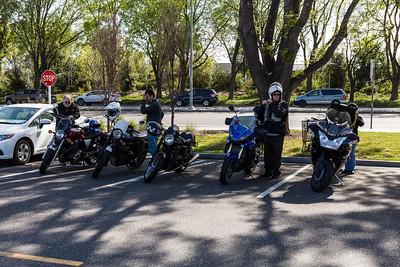 Santa Cruz montains to Alice's - April 14th 2019