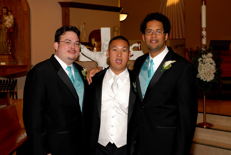 Mike and his best men.