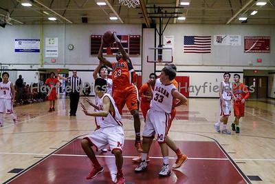 Boys JV Basketball  McLean 1/31/15