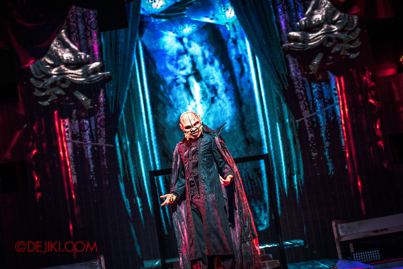 Universal Studios Singapore Halloween Horror Nights 8 - Infinite Fear Stage - Lu Xi Fa