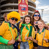 Aussie fans brace for the win | 2015 Asian Cup Final Match | Australia vs South Korea | Stadium Australia | January 31, 2015 in Sydney, Australia