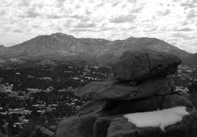 1/7/2011 from the top of artifact hill