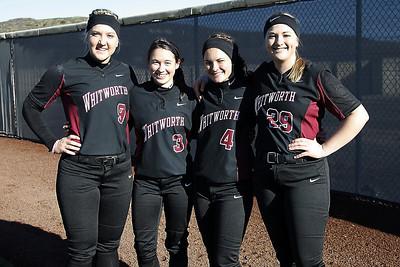 2014 Softball Seniors - Whitworth