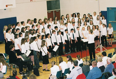 SCHAGHTICOKE MIDDLE SCHOOL WINTER CONCERT, NEW MILFORD, CT 2005