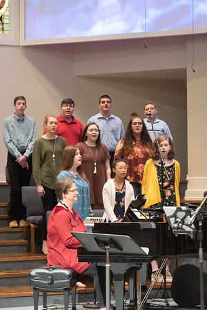 Combined children, youth, adult choir. Legacy series