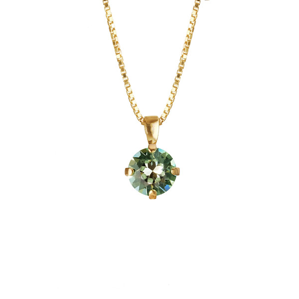 Classic stud Necklace_chrysolite.jpg