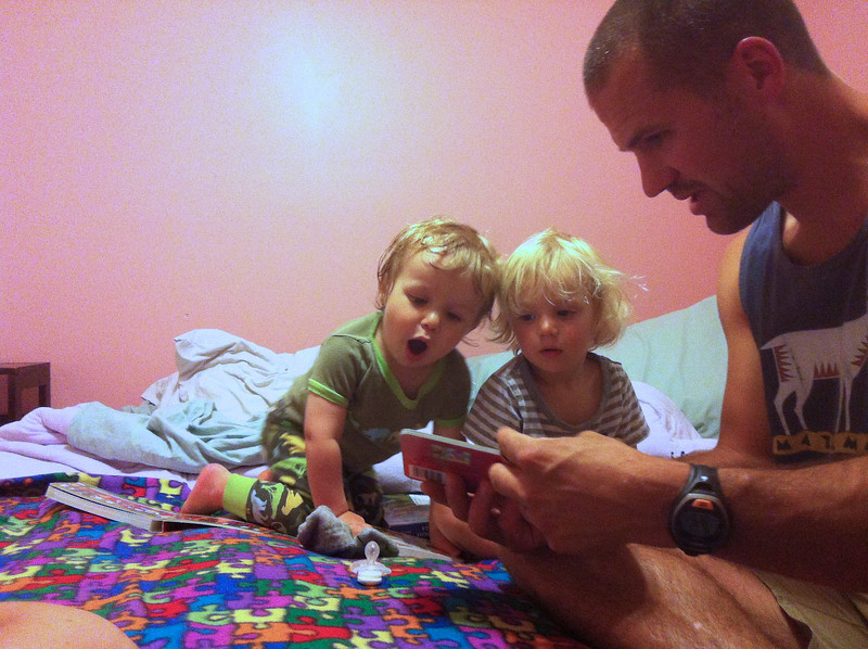 Bedtime stories with Uncle Craig.