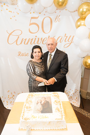 Rose and Victor 50th Anniversary