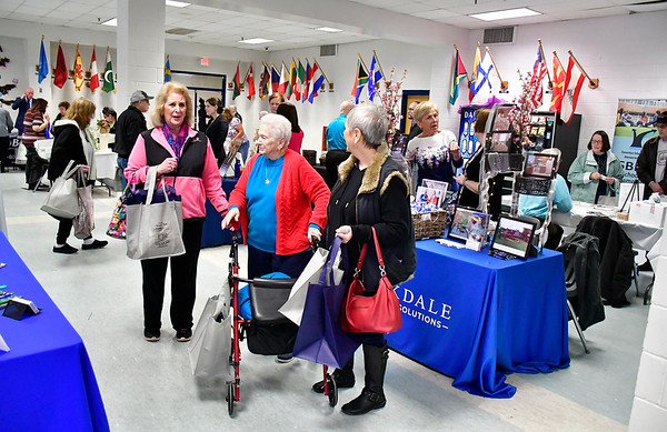 4/6/2019 Mike Orazzi | Staff The 5th Annual Connecticut Prime Time Senior Fair Saturday at Bristol Eastern High School.