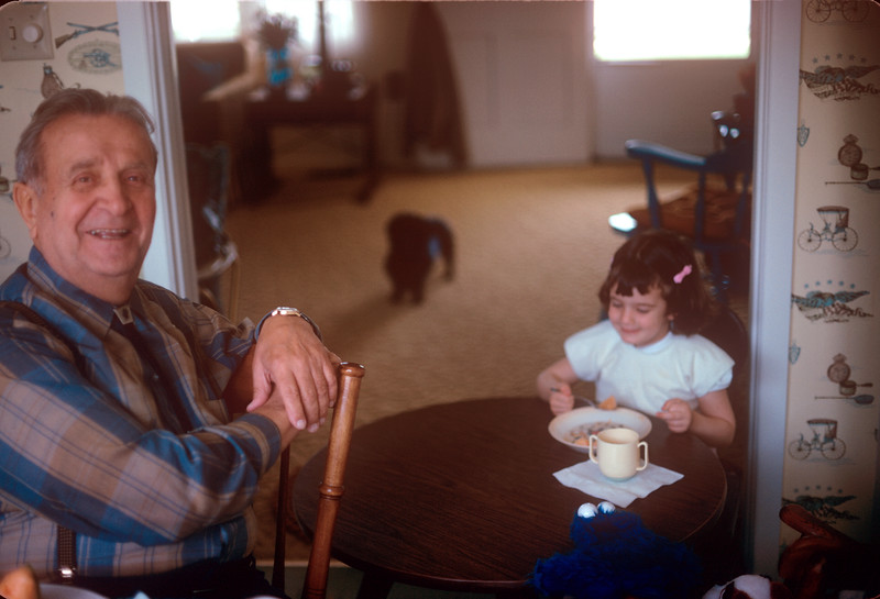 1973-06 Bonnie and Great Grandpa.jpg